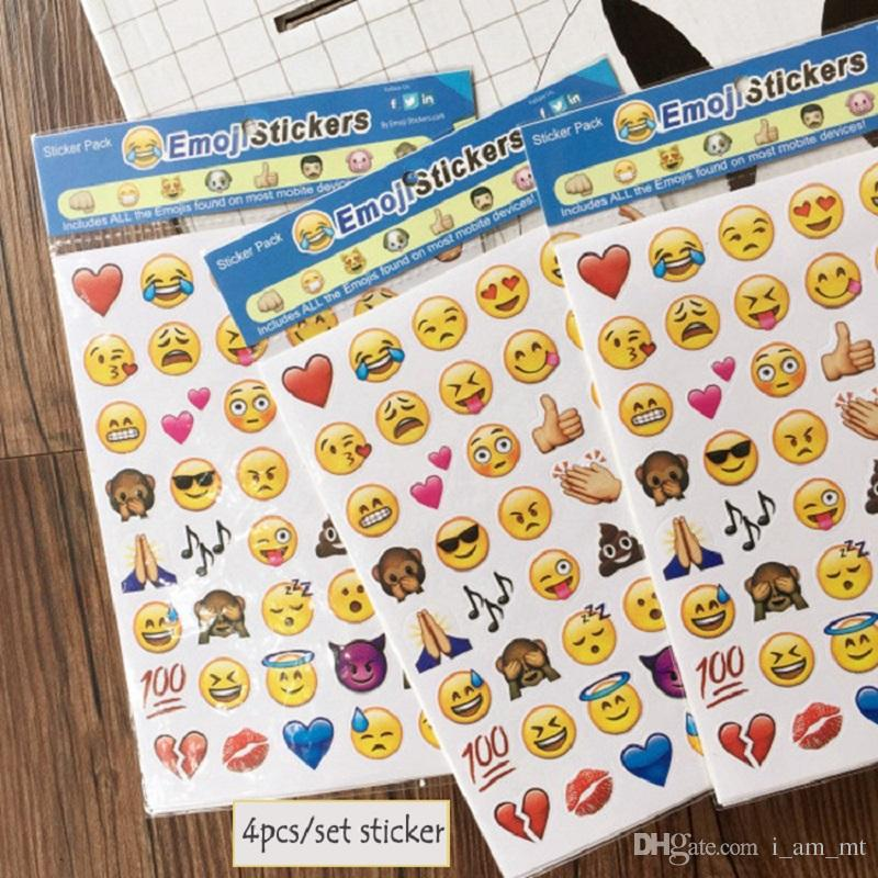 Heckscheibenaufkleber Selber Gestalten Großhandel Hot Nette Emoji ...