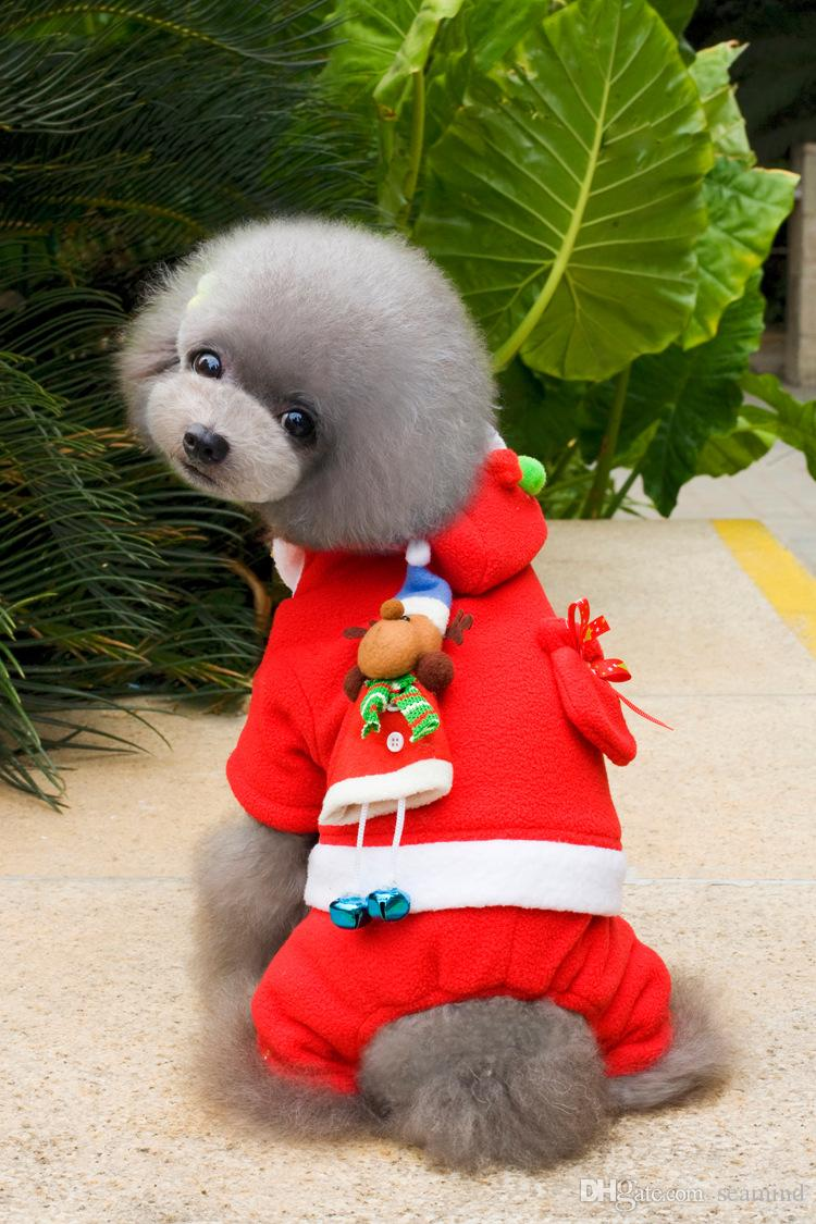 Home & Garden Nice Halloween Winter Cat Dog Costume Jumpsuit Small Pet Puppy Coat Hoodie Apparel Poodle Jacket Outfit Warm With Traditional Methods Dog Clothing & Shoes
