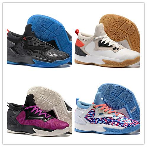 2016 New Arrival D Lillard 2 Basketball Shoes High Quality Damian Lillard 2 1  Easter Day Men Shoes Size 40 46 Shoes Kids Mens Basketball Shoes From ... 51ca50de17f7
