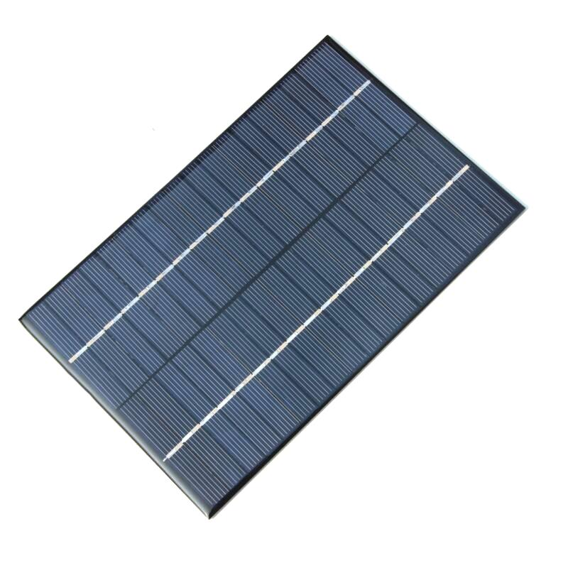 New 4.2W 18V Small Solar Panel/Polycrystalline Silicon Solar Cells Module DIY Solar Power System For 12V Battery 130*200MM FreeShipping