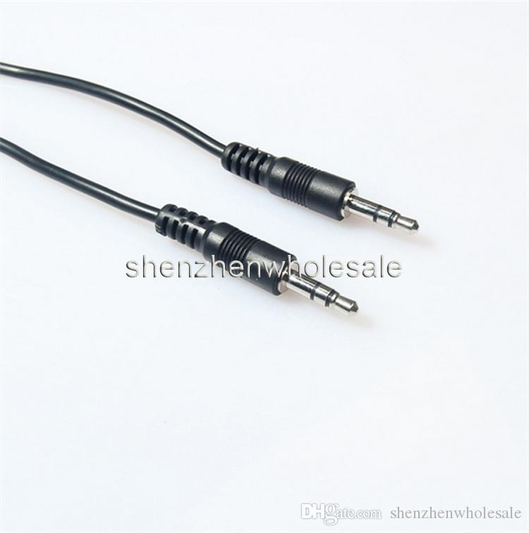 1M 3ft Black Aux Cable 3.5mm to 3.5mm Stereo Jack Plug Audio Car iPod AUX PC TV MP3 Cable Sliver Lead 300cm 120cm 100cm 70cm 50cm