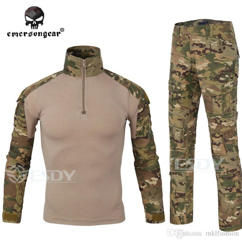ed692bdfb7 2019 Hot Sale 2017 Latest Styles Tactical Gear Camouflage Outdoors Shirt  Army Waterproof Warm Camo Hunting Clothes Windbreaker Shirt + Pants From  Mklfashion ...