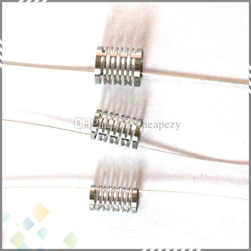 Notch Coil Authentic Demon Killer Notch Wire 316L SS 0.2ohm C D E 3 Typs Heating Wire fit DIY Atomizers DHL Free