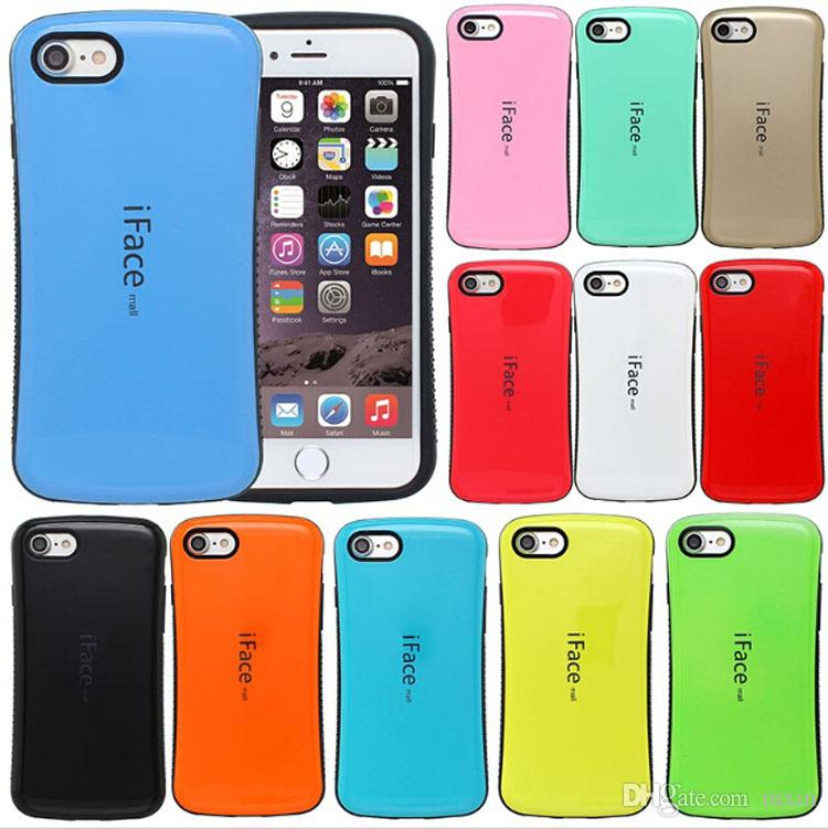sale retailer 40c71 d4f9e iFace Mall Shockproof Hybrid TPU PC Armor Shell Gel Case For iPhone XS Max  XR X 8 7 6 Samsung S10 Plus S10e S8 S9 Note 9 J5 J7 2016 2017