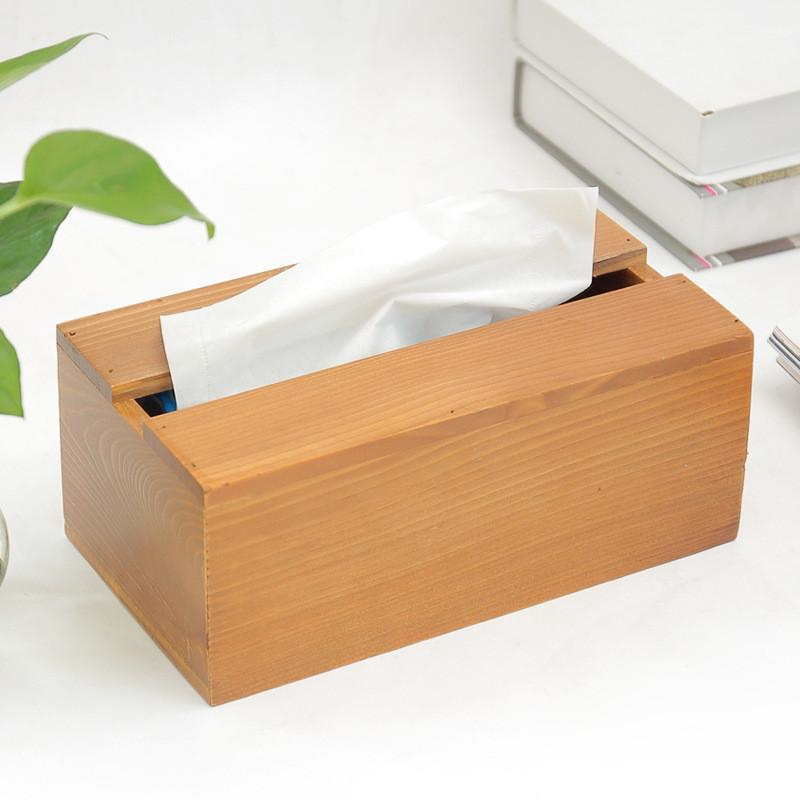 2018 Wood Tissue Box Napkin Storage Box Waterproof Toilet Paper Holder  Large Cartons Towel Rack Broader Tissue Boxes From Tanguimei1, $13.85 |  Dhgate.Com
