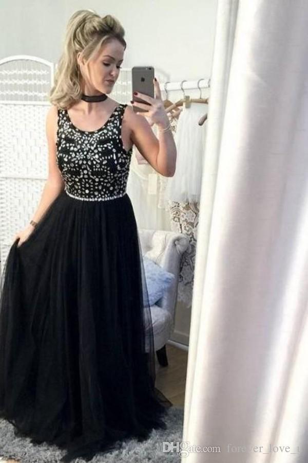 Великолепное черное выпускное платье сшитое по размерам и длинные вечерние платья.