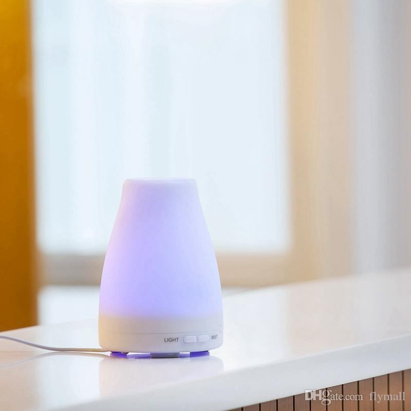 100ml Essential Oil Diffuser Portable Aroma Humidifier Diffuser LED Night Light Ultrasonic Cool Mist Fresh Air Spa Aromatherapy