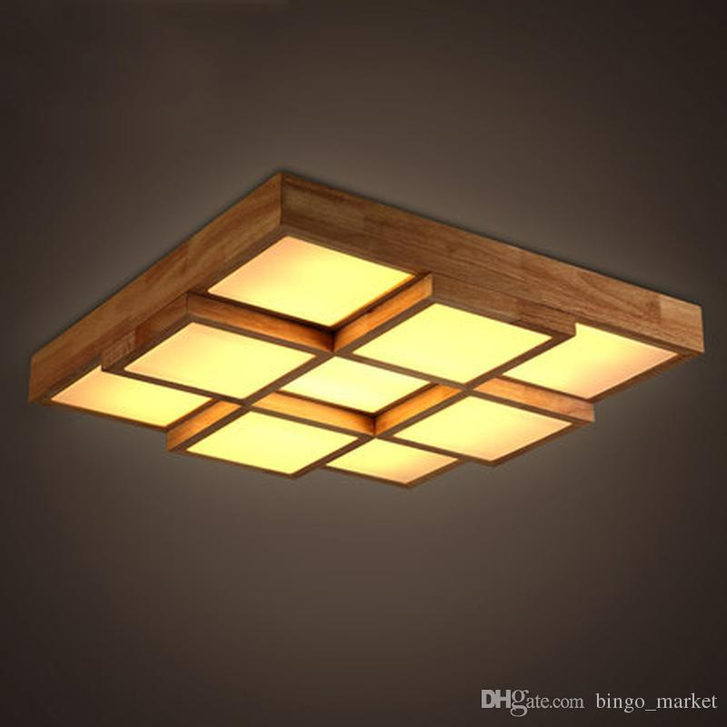 Discount led nordic magic cube wooden acrylic led lampled light discount led nordic magic cube wooden acrylic led lampled lightceiling lightsled ceiling lightceiling lamp for foyer bedroom hall from china dhgate mozeypictures Image collections