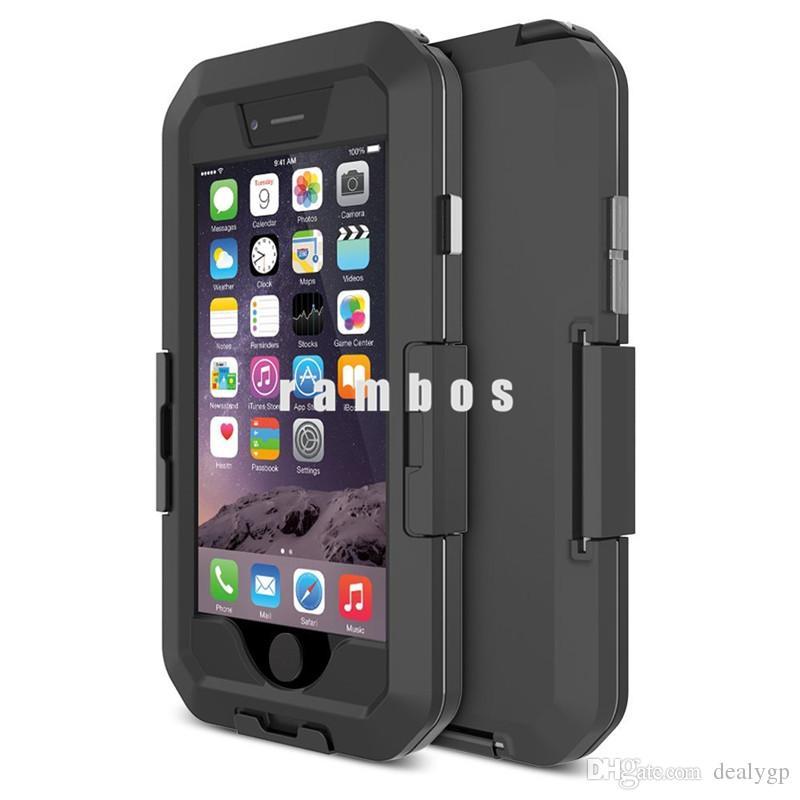 Custodia protettiva antiurto smartphone SmartPhone Custodia impermeabile telefono cellulare impermeabile a prova di neve iPhone6s