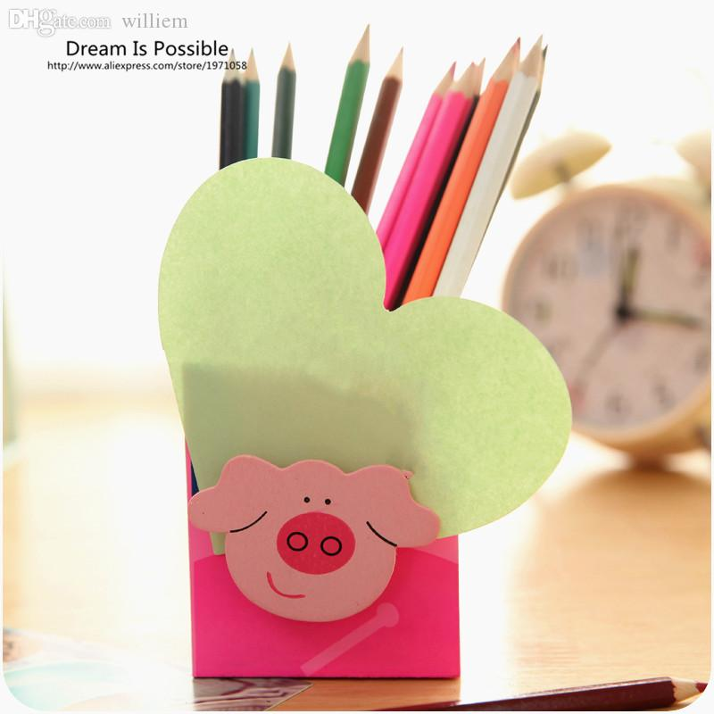 Delicieux 2018 Wholesale Cute Fashion Wooden Pen Holder Pencil Container Stationery  Organizer Pen Office School Supplies Korea Stationery Study Storage From  Williem, ...