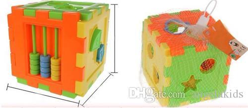 طفل لعب اطفال الملونة كتلة مطابقة الفرز التعليمية لعبة هندسة الشكل الاستخبارات الطفل لعب مزيج متعددة الوظائف