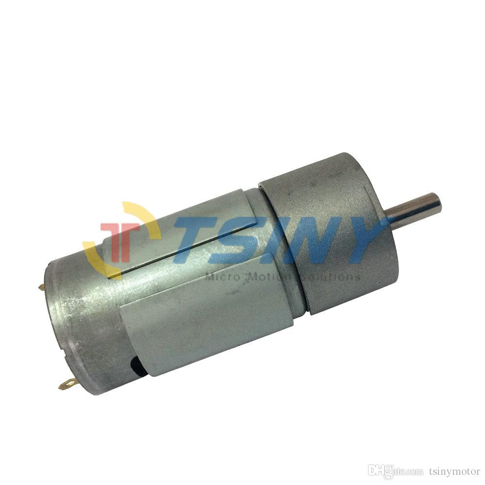 High Speed DC Gear Motor 12V 280RPM Low Torque 3kg.cm DIY Engine RC Smart Car Robot Mmodel Door Locks