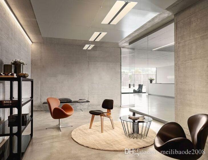 2016 led Çerçevesiz ışık kılavuzu plaka droplight oturma odası restoran Oteller ofis kristal avize Yaratıcı LED ışık paneli Kolye MYY