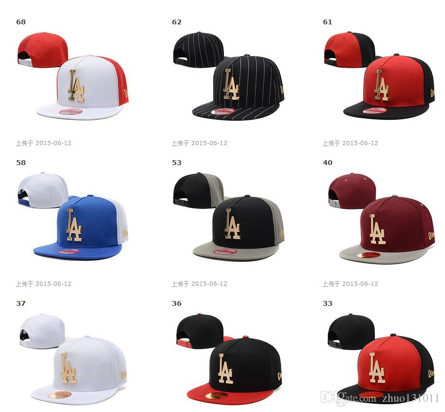 snapback hats custom snapbacks hat LA baseball teams sports caps mix order drop shipping professional Caps Factory