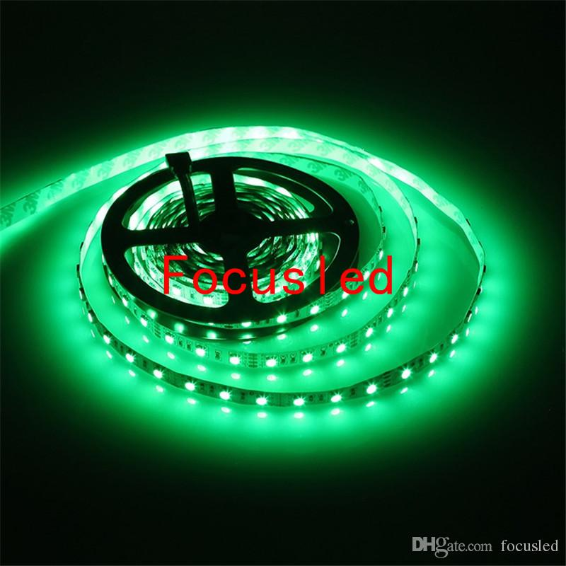 5050 LED RGB Strips Lichten 12V Waterdichte LED-touwverlichting Strips 5M 300LEDS voor Kerstmis KTV-barverlichting