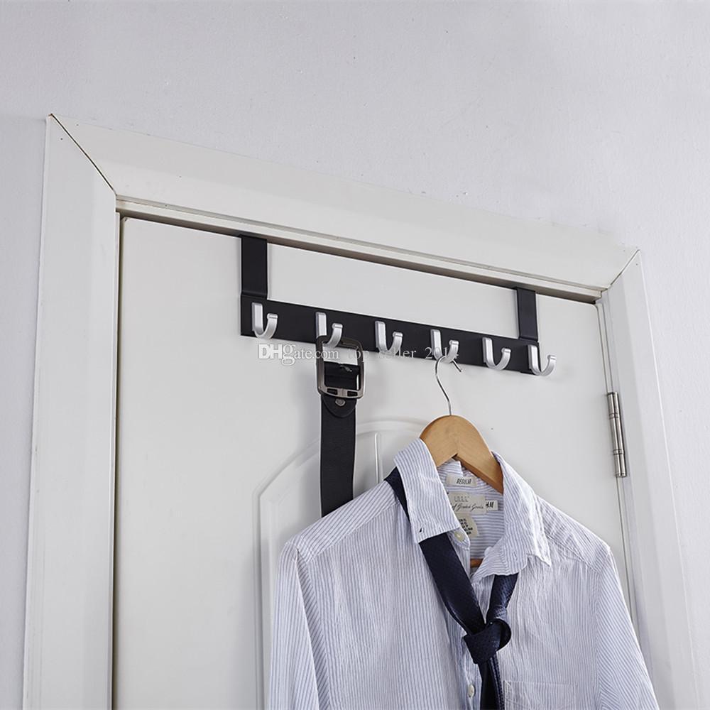 Porte Western Pour Salle De Bain ~ acheter 6 crochets au dessus de la porte v tements manteau dress