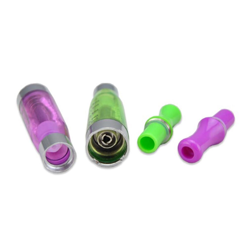 CE4 Atomizer eGo Clearomizer 1.6 ml 2.4ohm buhar tankı Elektronik Sigara için e-çiğ pil 8 renkler 4 fitil CE4 + CE5 DHL kargo