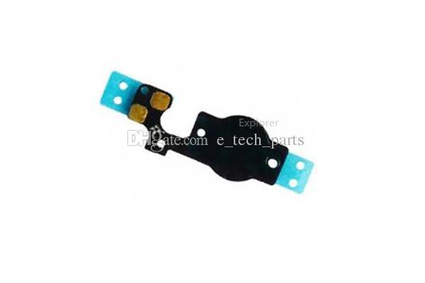 Ana Menü Düğmesi Anahtar Kapağı Flex Kablo Braketi Tutucu Seti Meclisi iphone 5 5G 5C Siyah Beyaz Yedek parça