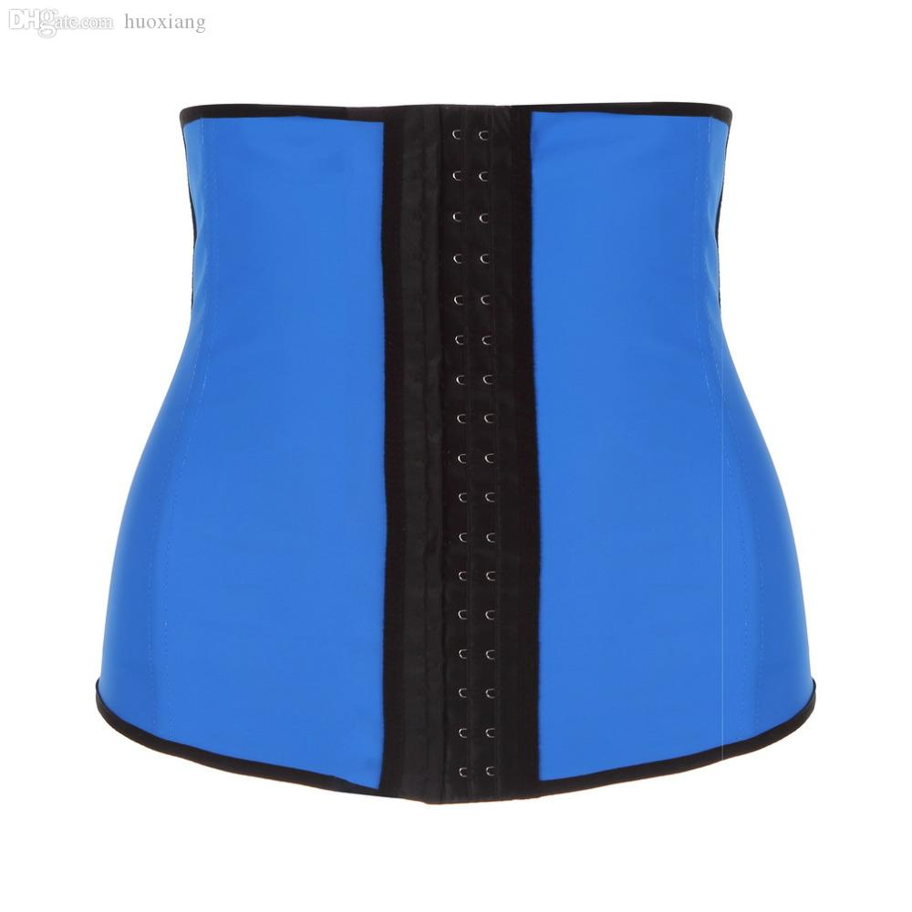 233ff830b6dbb Wholesale-Unisex Rubber Waist Training Cincher Underbust Corset Body ...