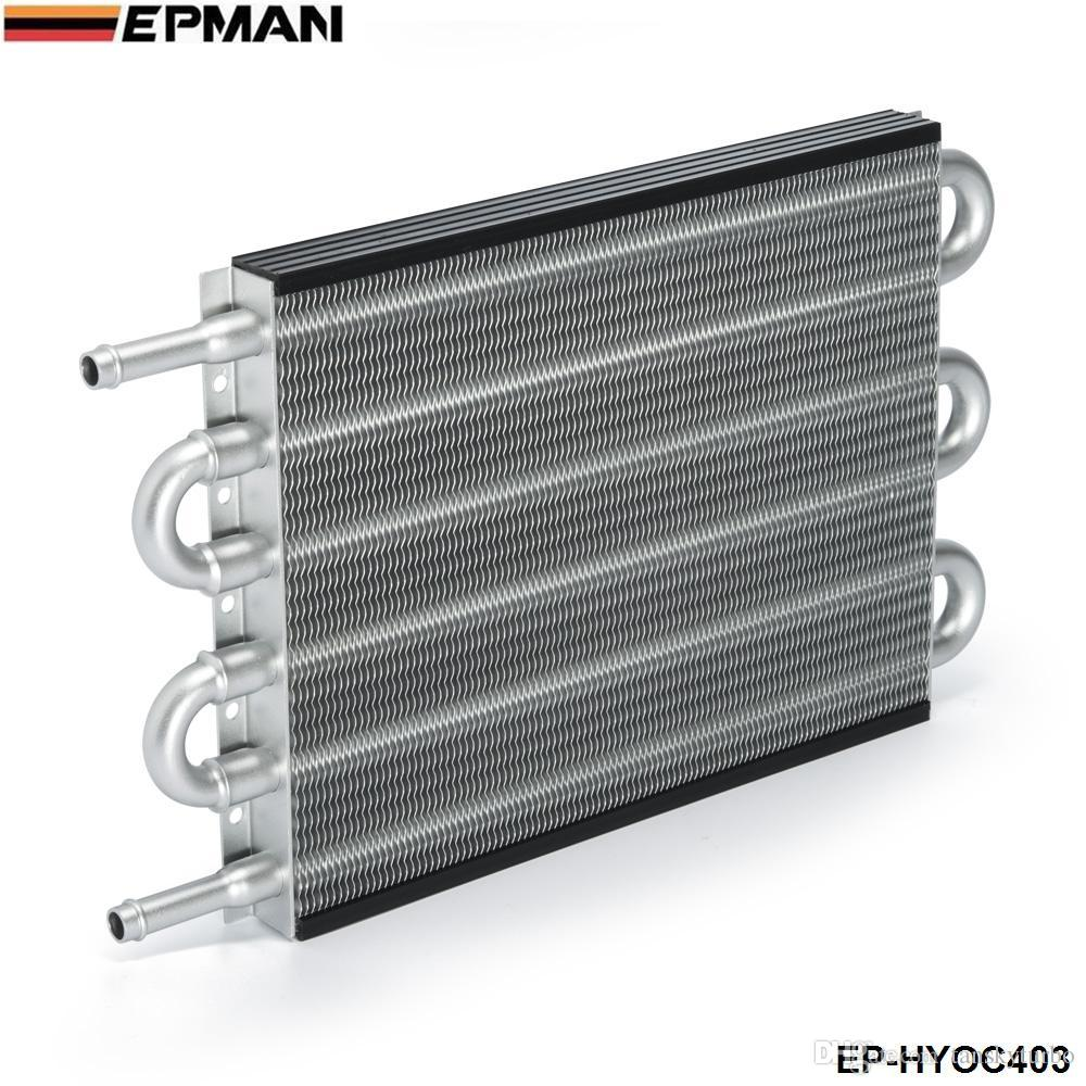 EPMAN - NEW Universal 6 Row Aluminum Heavy Duty Transmission Oil Cooler  Auto Manual Radiator Converter EP-HYOC403 403 1403 OC-1403 OC1403 6 Row Oil  Cooler ...