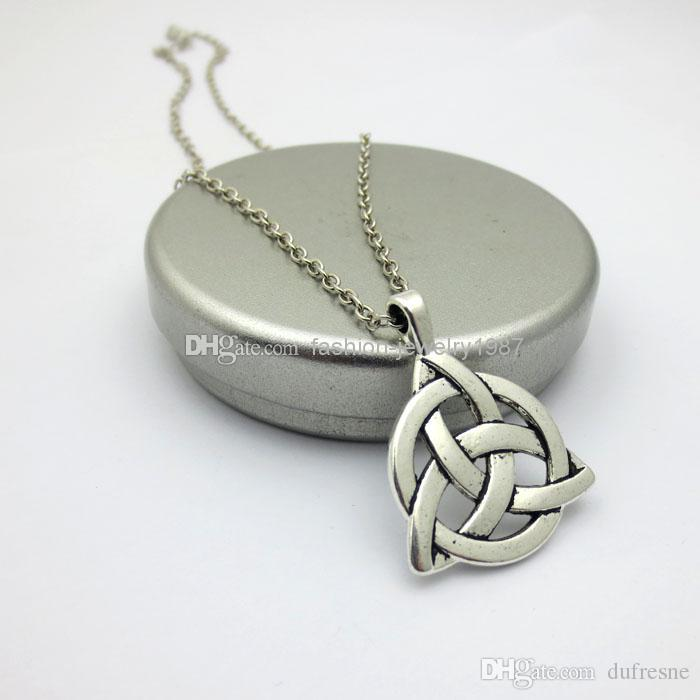 Wholesale triquetra trinity pewter pendant charmed celtic necklaces wholesale triquetra trinity pewter pendant charmed celtic necklaces pendants silver pendant necklace gold pendant necklace from dufresne 4831 dhgate aloadofball Image collections