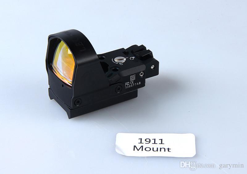 Nuovo Tactical Style DP-Pro Red Dot Sight con tre tipi di attacco fucile