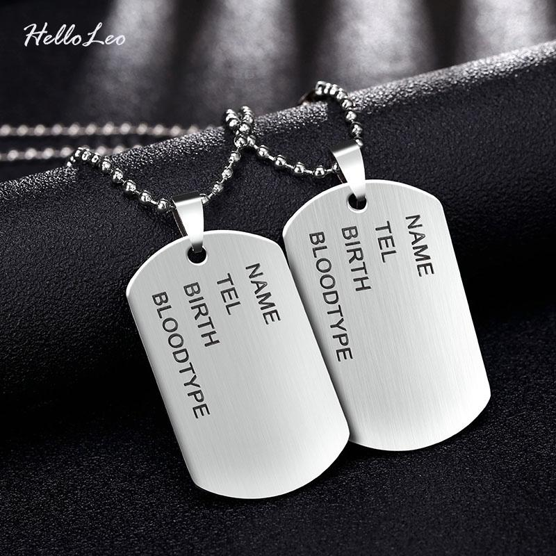 necklace product com on detail buy personalized id name dog tag alibaba military customized