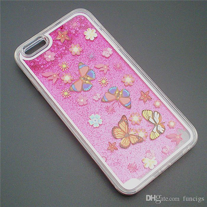 Cheap Mobile Phone Accessory Liquid Star Sand Cell Phone Cover Case for Iphone 6/6s Quicksand Phone Case