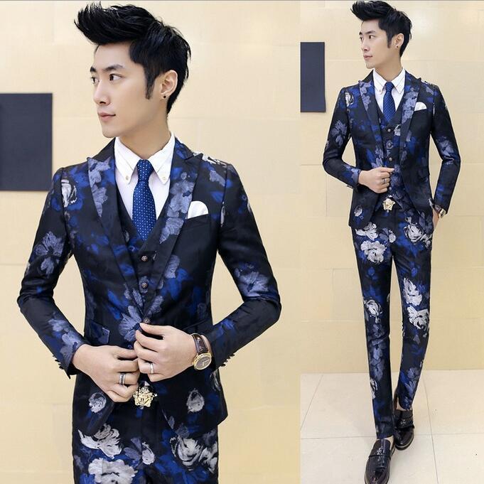Wholesale- 2017 Fashion Custom Made Wedding Dress Mens Italian Suit ...