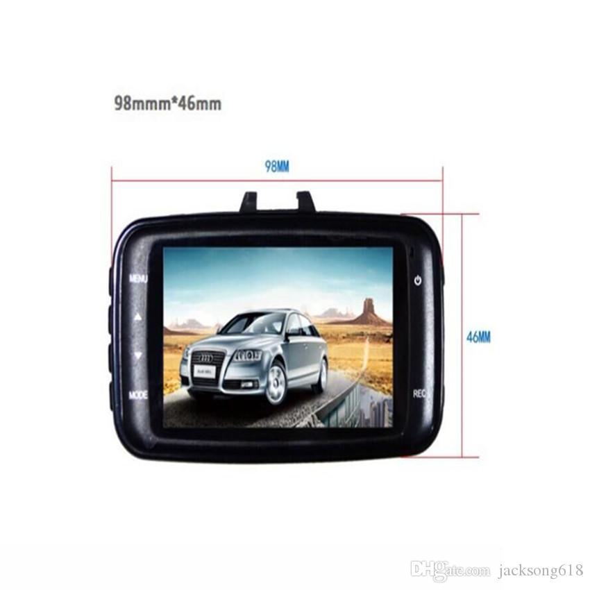 GS8000L 자동차 DVR 차량용 HD 1080P 카메라 비디오 레코더 대시 캠 G- 센서 HDMI 자동차 레코더 DVR 블랙 선물 상자 도매 공장 가격