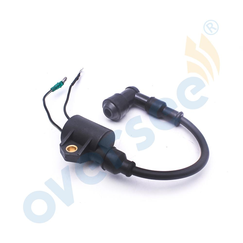 IGNITION COIL ASSY fit Yamaha Outboard 6H5-85570-00 C P 25HP 30HP 40HP 50HP  2T