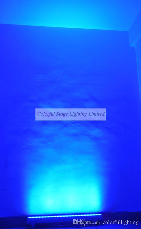 Freies verschiffen Hohe qualität 24x3 Watt RGB 3in1 Tri 1 Mt Lange LED Wall Washer Licht Tri Wallwasher