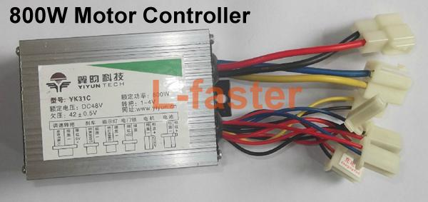 36 V 48 V 800 Watt Elektromotor Controller Pinsel DC Motor Drehzahlregelung Für Elektroroller 800 Watt Elektromotor Controller Gebürstet
