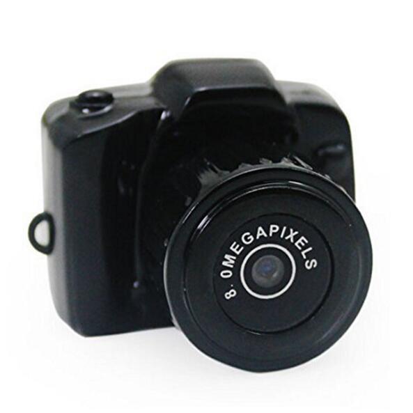 Mini cámara de video HD Grabadora de videocámaras DVR DVR de bolsillo pequeño Cámaras web portátiles CMOS 2.0 Mega píxeles