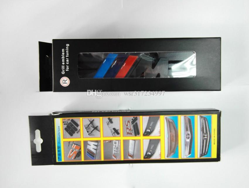 NOUVEAU M puissance Motorsport Metal Logo Autocollant De Voiture Arrière Coffre Emblème Grill Badge Pour BMW E46 E30 E34 E36 E39 E53 E60 E90 F10 M3