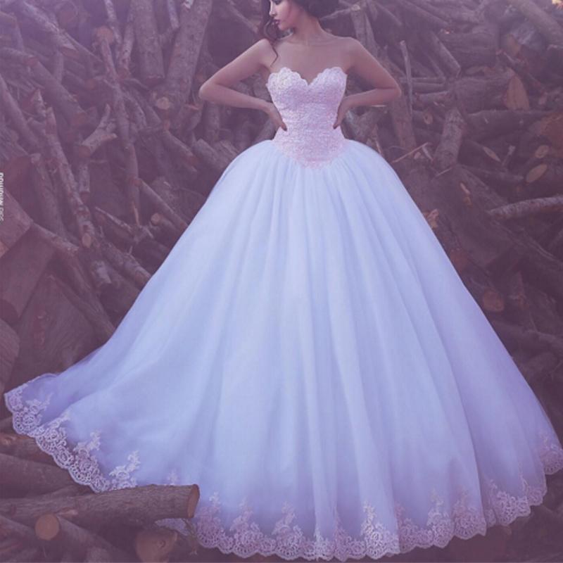 Compre Dicho Vestidos De Novia 2016 Mhamad De Novia De Escote De ...