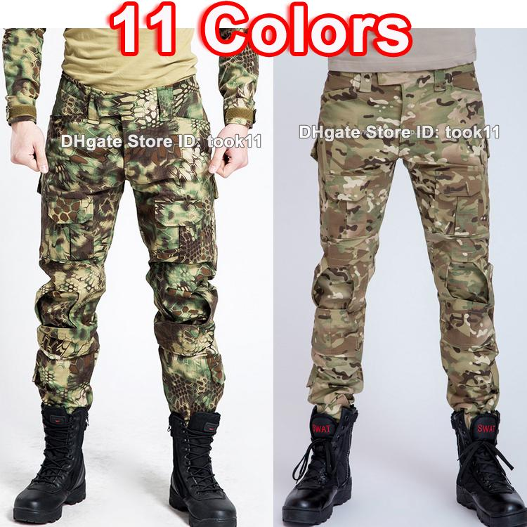 aeab66d91f6e 2019 Army Military Trousers Men Skinny Camouflage Pants Fashion Multicam  Camo Combat Tactical Pants Cargo Pants Military Style Paintball CP ACU From  Took11