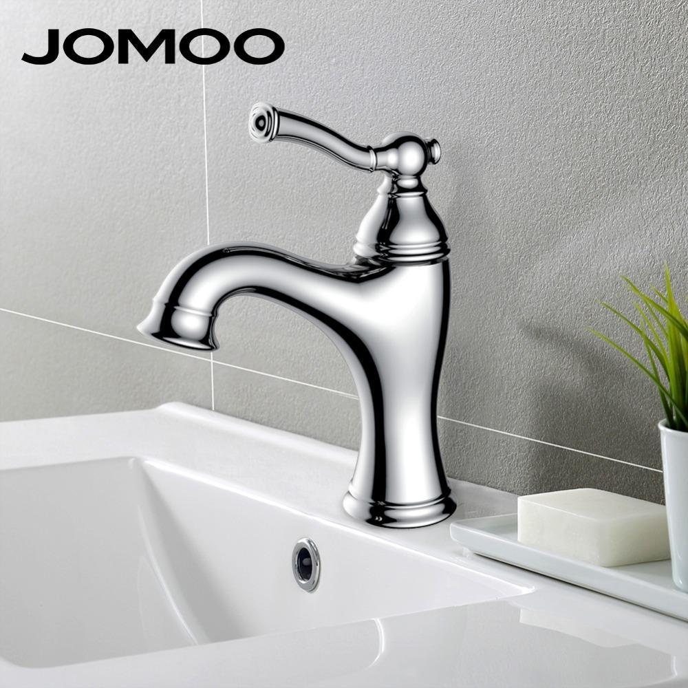 2018 Jomoo Bathroom Basin Faucet Deck Mount Lavatory Basin Mixer ...