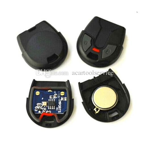 XQautopart 433.92mhz Old Brazil Positron Car Alarm Remote Control BX024A with HCS300 chip for Fiat 2 button style