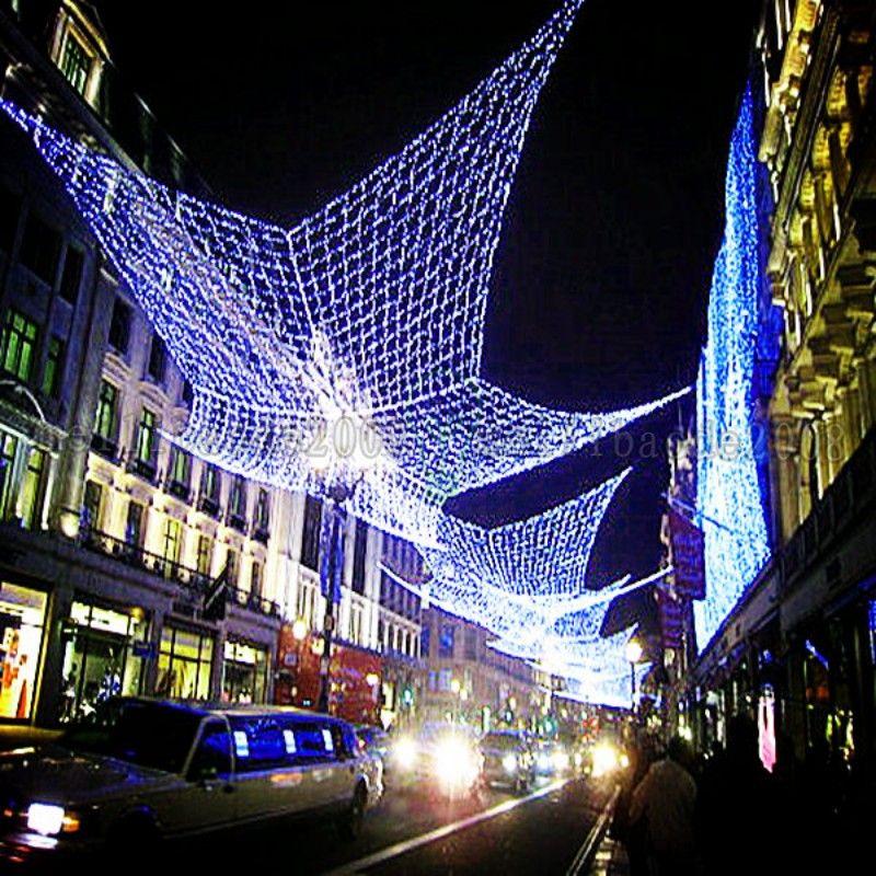 NEW Meshwork lamp 800 LED Net Lights 3m*6m Curtain Light Xmas String Lamp Decoration Party Fairy 110V-220V AU UK EU US plug MYY