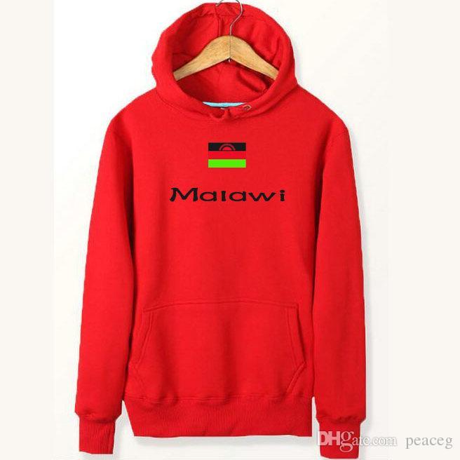 851a9e2f 2019 Malawi Flag Hoodies Country Unique Mark Sweat Shirts Fleece ...