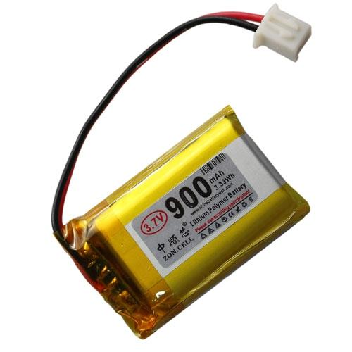 Im Kern 900mAh 3,7 V Lithium-Polymer-Akku 502530 * 2 Lautsprecher Navigator Lernmaschine 102530