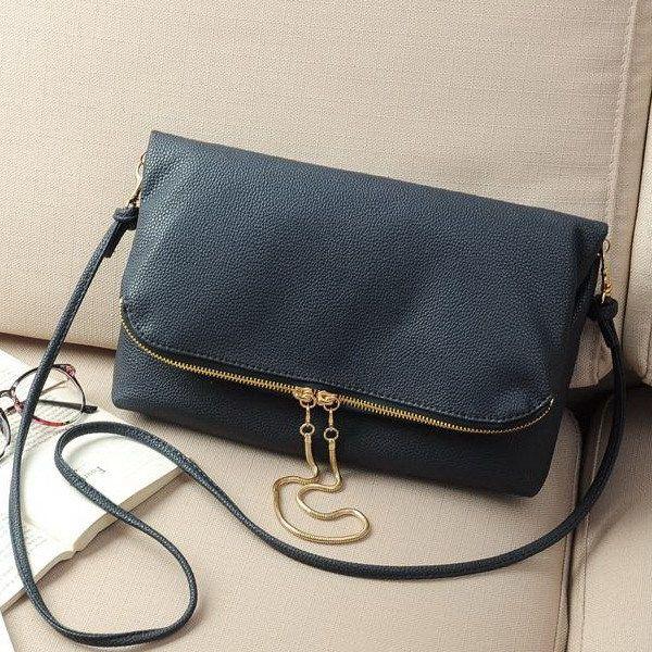 Wholesale Brand Design Ladies Sling Fold Over Handbags Bags Women ...