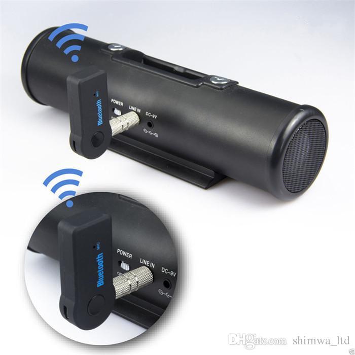Drahtloser Bluetooth Audio-Musik-Adapter 3.5MM AUX Bluetooth-Empfänger freihändig für Auto, Stütztelefon / MP3 / Tablette