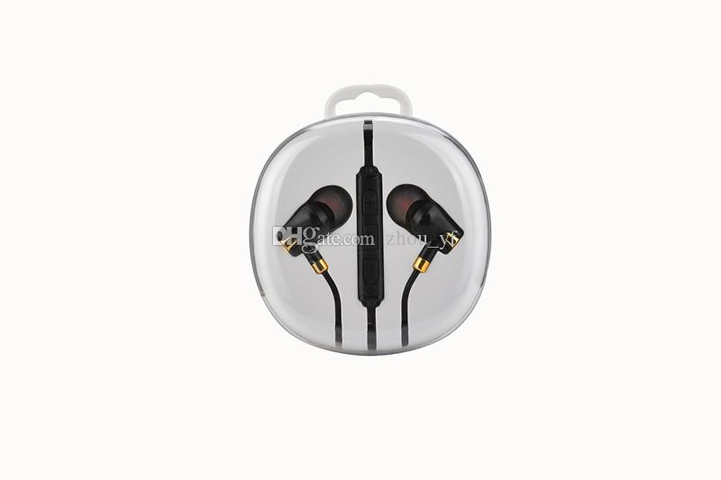 Universal 3.5mm In-ear Earphone Earbuds With Mic & Volume Control Earset headphone for iphone 5 6 6s Samsung s6 s7 s8 andoird phone