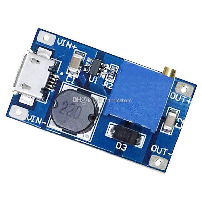 MT3608 DC-DC Step Up Power Wenden Sie das Modul Booster Power Module 2A für Arduino B00317 an
