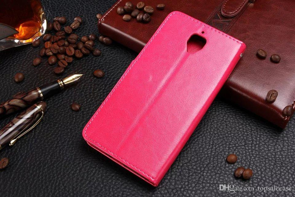 Hot For Oneplus 3 Case Luxury Slim Wallet Cover Ultra-Thin Leather Case For Oneplus 3 / Oneplus Three