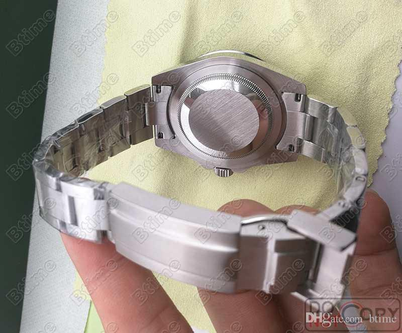 Luxury GMT Керамический Безель Мужские Механические Из Нержавеющей Стали Автоматические Механические Часы Дизайнер Спортивные с автоподзаводом мужские Часы Наручные Часы Btime