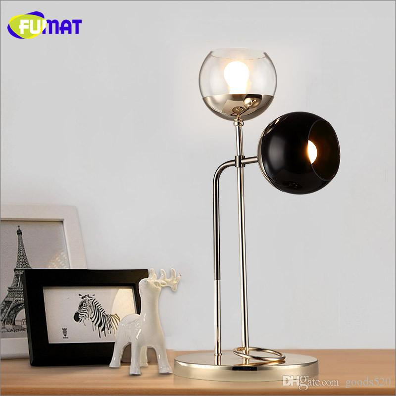 2018 fumat art glass bubbles table lamp north european modern brief 2018 fumat art glass bubbles table lamp north european modern brief metal led table lamp living room office bedroom bedside lights from goods520 aloadofball Gallery