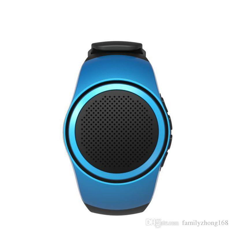Zamanlayıcı anti-kayıp alarm müzik spor mini Bluetooth hoparlör desteği ile B20 akıllı izle TF kart FM radyo eller-serbest 24-YX